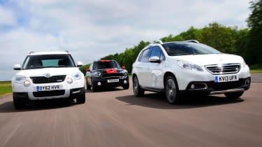 Peugeot 2008 vs rivals
