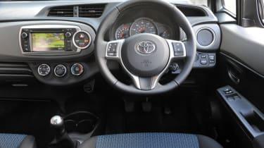 Toyota Yaris dash