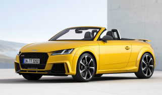 Audi TT RS - front three quarter