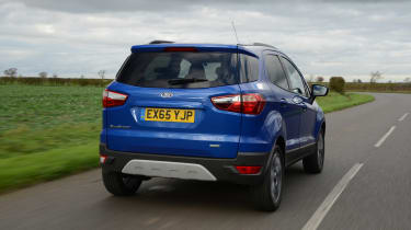 Ford EcoSport 2015 rear tracking