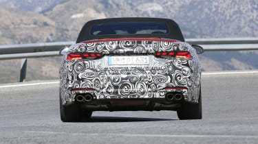 Audi S5 Cabriolet - spyshot 8