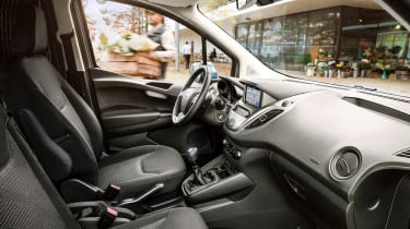 New Ford Transit Connect and Courier - cabin