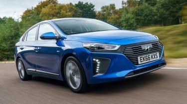 Hyundai Ioniq - front action