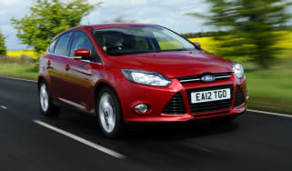 Ford Focus front action