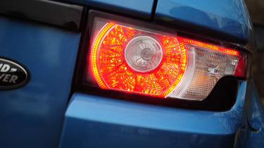 Range Rover Evoque Coupe rear light