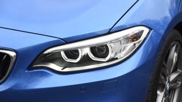 BMW M240i Coupé long term review - headlight