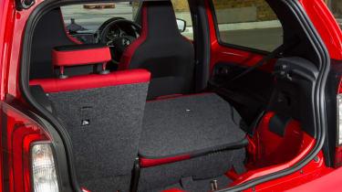 Triple test –Skoda Citigo - seats folded