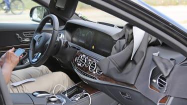 Mercedes S-Class facelift interior