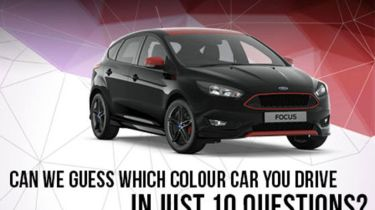 Ford guess the car colour