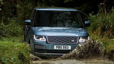 Range Rover SDV8 - front off-road