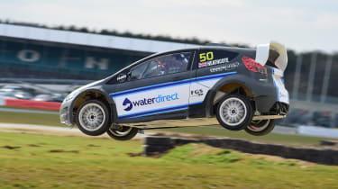 World Rallycross RX2 - jump side