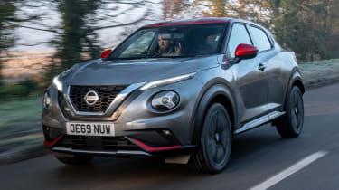 Nissan Juke - front tracking