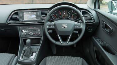 SEAT Leon ST estate 2014 interior