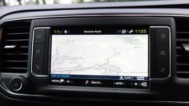 Peugeot e-Expert - sat-nav