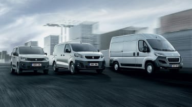 Peugeot van fleet