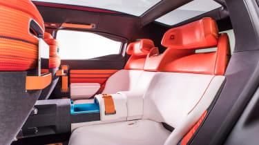 Citroen Aircross concept - rear seats