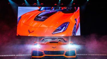 Corvette ZR1 Convertible - front