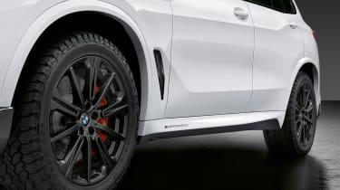 BMW X5 M Performance Parts - side detail