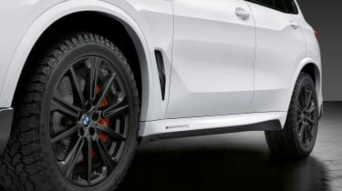 BMW X5 M Performance Parts - side detail