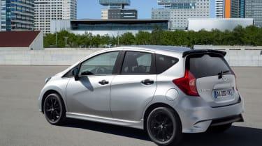 Nissan Note Black Edition - rear quarter
