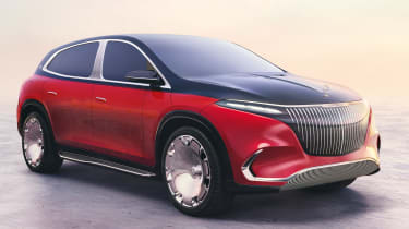 Mercedes-Maybach EQS SUV - front/side