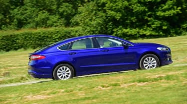 Ford Mondeo - side blue