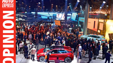 Opinion - motor shows