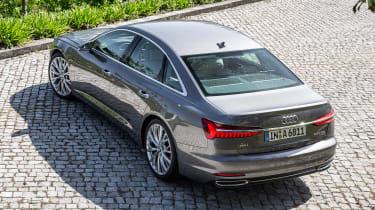 Audi A6 - above