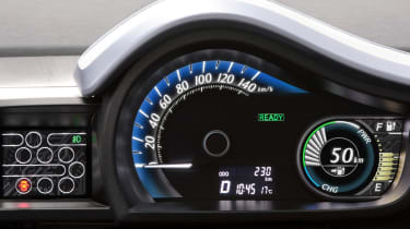 Toyota iQ EV detail
