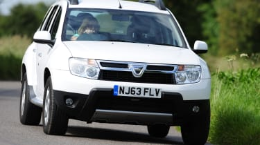 Best cars for under £10,000 - Dacia Duster