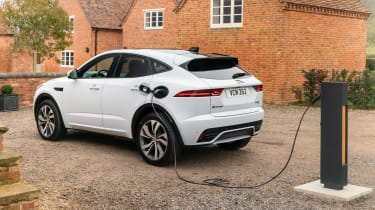 Jaguar E-Pace PHEV - charging