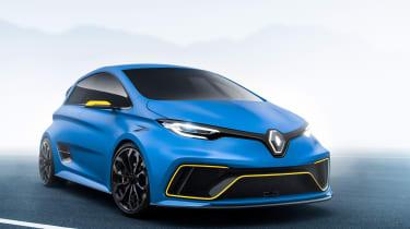 Renault ZOE e-sport - front quarter