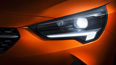 New Vauxhall Corsa-e official 2019 light