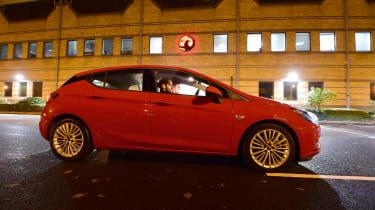 Vauxhall Astra side night