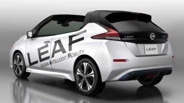 Nissan Leaf Open Air - rear