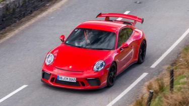 Porsche 911 GT3 - above