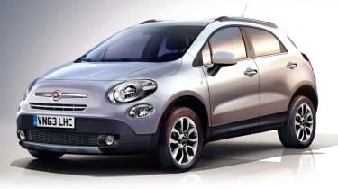 Fiat 500 X front