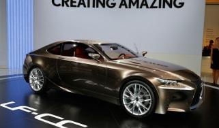 Lexus LF-CC front