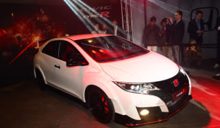 Honda Civic Type R revealed in Geneva 2015