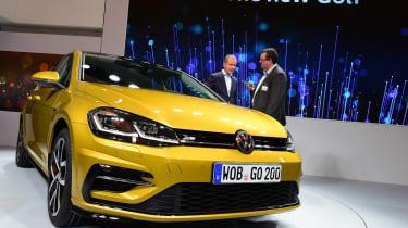 New 2017 Volkswagen Golf reveal - John McIlroy