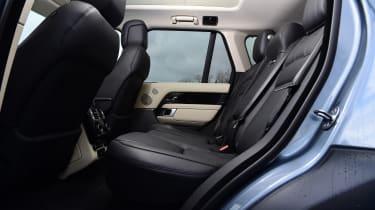 Range Rover D300 Westminster - rear seats