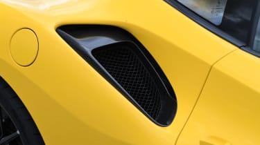 Ferrari 488 Pista - cooling