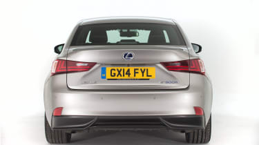 Used Lexus IS - full rear