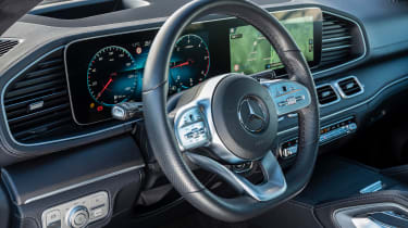 Mercedes GLC 400 d Coupe - interior