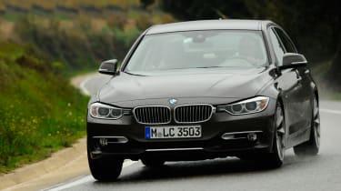 New BMW 3 Series front cornering
