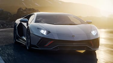 Lamborghini Aventador LP 780-4 Ultimae - coupe front
