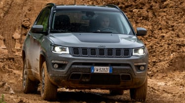 Jeep Compass Trailhawk - off-road front