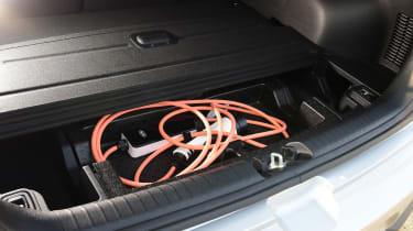 Kia e-Niro - charging cable storage