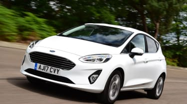 Ford Fiesta - front driving