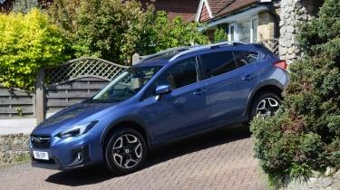 Subaru XV - driveway